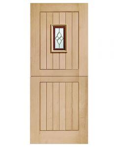 External Oak Chancery Triple Glazed Stable Door
