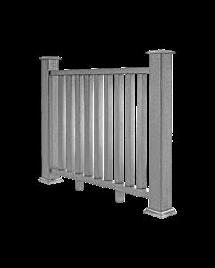 Cool Grey Composite Decking Balustrade (1.2m)