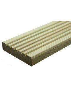 Deluxe Decking Boards (120mm x 28mm) - £2.34 per metre