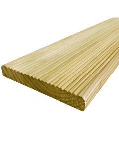 Value Decking Boards (118mm x 19mm) - £1.44 per metre