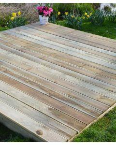 2.4m x 4.2m Timber Decking Kits