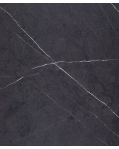 Spectra Black Lightning Marble 40mm Curved Edge Worktop