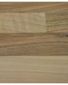 Blocked Oak Kitchen Worktop Laminate Sample