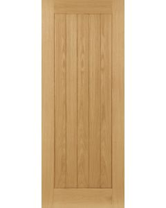 Deanta Internal Un-finished Mexicano Style/ Ely Oak Door