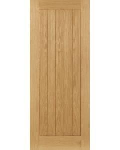 Deanta Internal Pre-Finished Oak Mexicano/ Ely Fire Door
