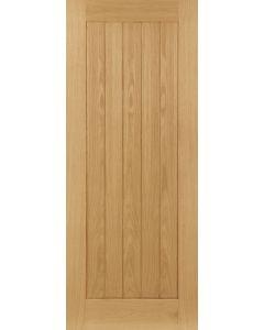"""30"""" Deanta Ely Oak Door Pre Finished (1981 x 762 x 35mm)"""