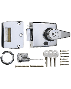 Era Double Locking Nightlatch in Chrome