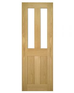 Deanta Eton Glazed Internal Oak Door