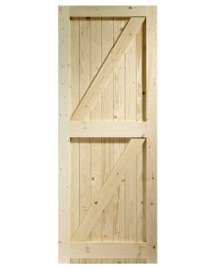 External Pine Framed Ledged & Braced Gate