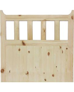 Front Softwood Garden Gate