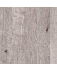 Grey Longbarr Oak ABS Square Edge Worktop by Oasis