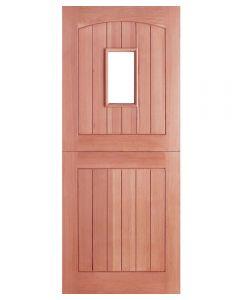 External Hardwood Un-glazed Stable 1-light Door