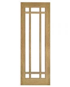 Deanta Kerry Glazed Internal Oak Door