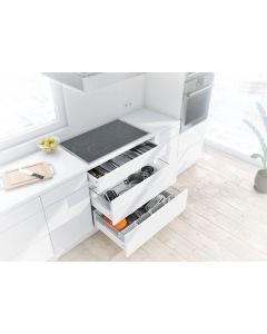 Blum Antaro Metallic Grey - 1 x Cutlery & 2 x Pan Drawer Pack