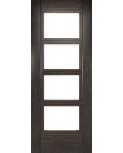 Deanta Montreal Glazed Internal Dark Grey Ash Door