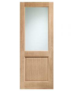 External Oak Un-finished 2XG Door