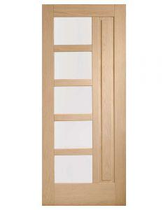 External Oak Un-finished Lucca Door