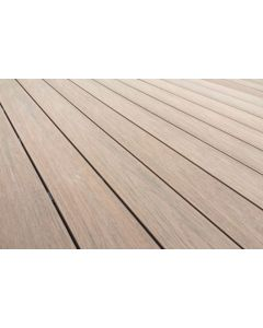 3.6X2.4M Oak / Walnut Ultracore Original Composite Decking Kit