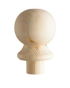 Pine Ball Newel Cap