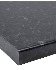 Black Slate Matt 40mm Laminate Kitchen Worktop