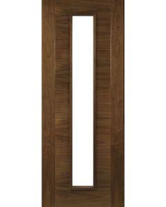 Deanta Internal Seville Glazed Pre-finished Walnut Door