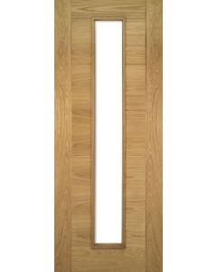 Internal Seville Glazed Pre-Finished Oak Door