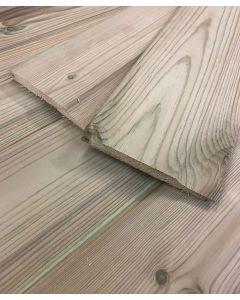 Treated Shiplap cladding (Whitewood)