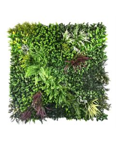 Tropical Artificial Plant Living Wall Panels
