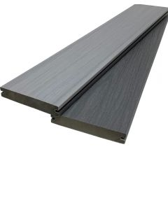 Composite Decking Board SolidCore - Slate Grey/ Light Grey 4m