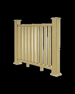 Warm Sand Composite Decking Balustrade (1.2m)