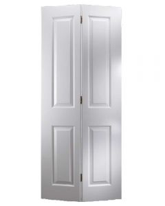 Made to Measure Bi-Fold White 4 Panel Door