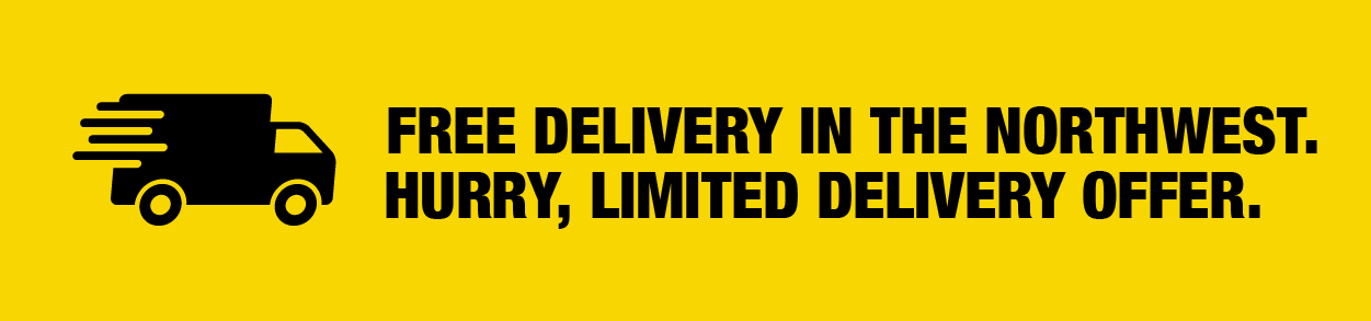 Free delivery in the North West
