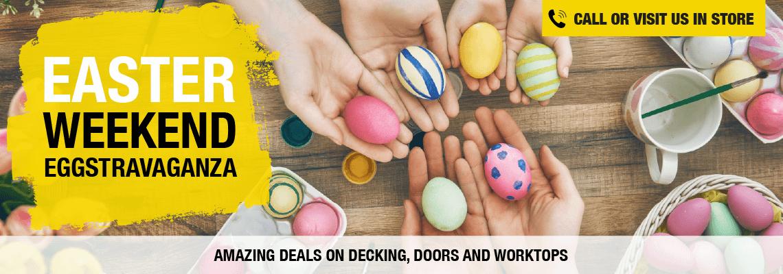 Easter Weekend Eggstravaganza