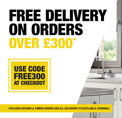 Free Delivery on orders over £300