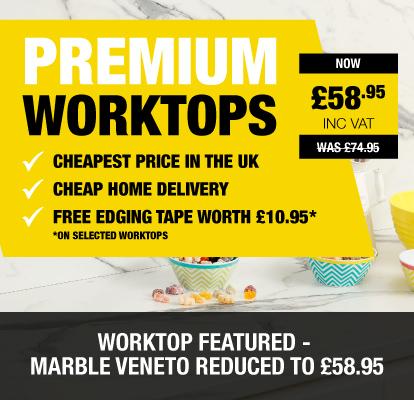 Premium Worktops now £58.95