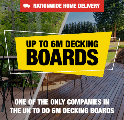 Up To 6M Decking Boards