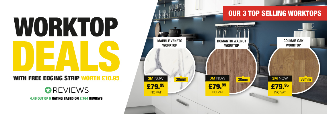 Savoy Worktop Deals With Free Edging Strip