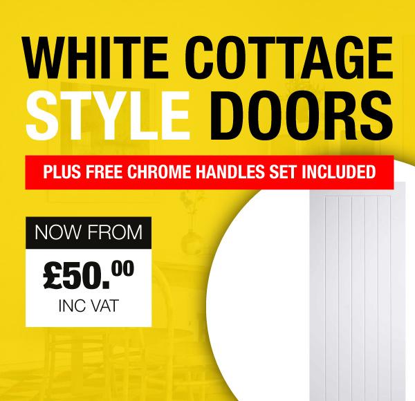 White Cottage Style Doors