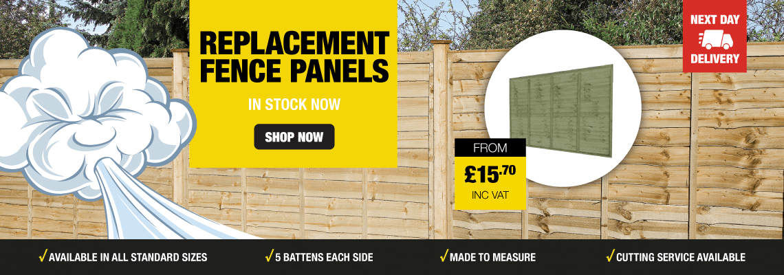 Replacement Fence Panels