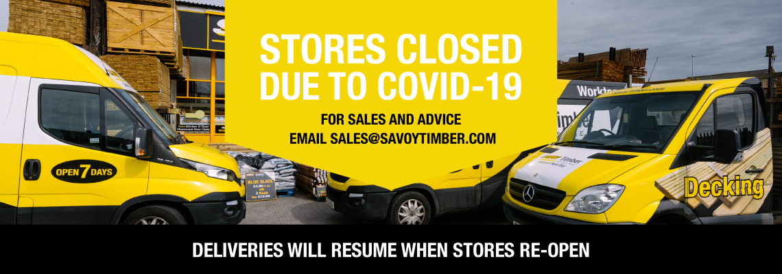 Stores Now Closed Due To Coivd-19