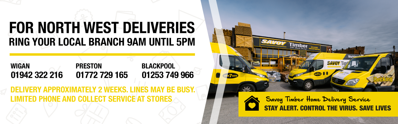 For North West Deliveries Ring Your Local Branch 9am until 5pm