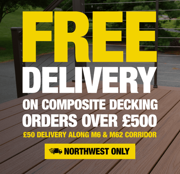 Free Delivery On All Composite Decking