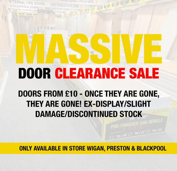 Massive Door Clearance