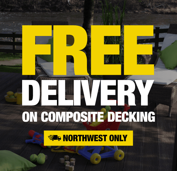 Free Delivery On All Composite Decking Boards