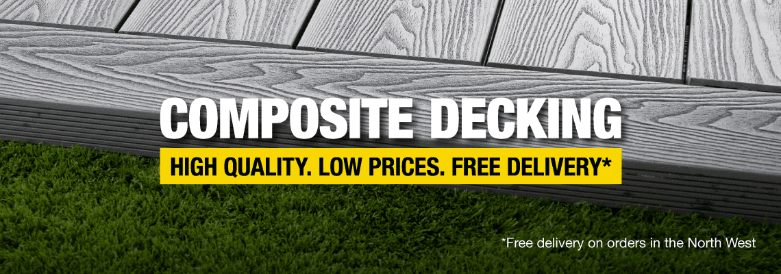 Composite Decking - High Quality. Low Prices. Free Delivery