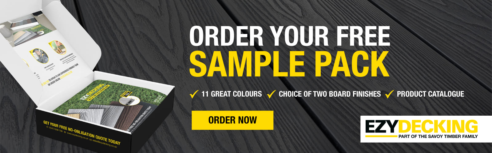 Order Your Free Sample Pack