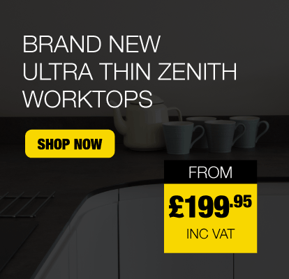 Brand New Ultra Thin Zenith Worktops