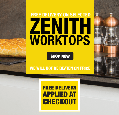 Free Delivery On Selected Zenith Worktops
