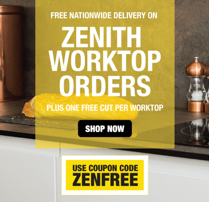 Free Delivery On Zenith Worktop Orders