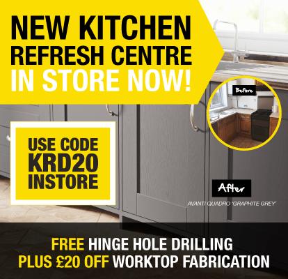 Kitchen Refresh Centre Launch Offer
